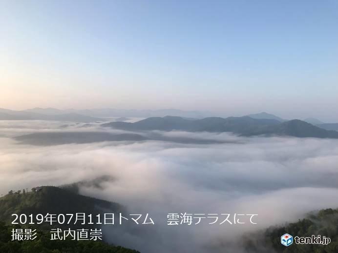 北海道 夏は雲海の季節!