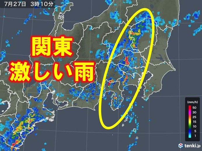 台風6号 上陸前から危険な雨 東海から関東へ