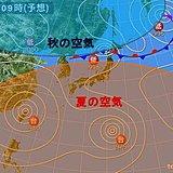 立秋以降 北海道で秋の気温 東北~九州は残暑厳しい