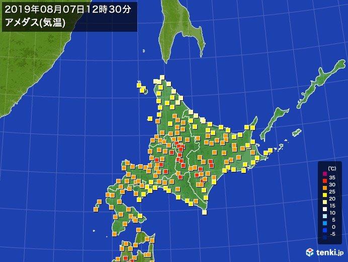 暑いぞ北海道!