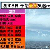 あす8日立秋 暦では「秋」でも猛烈残暑の日本列島