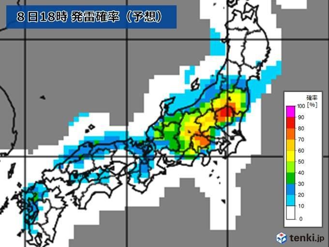 【九州~東北】あすも猛暑・急な雷雨に注意