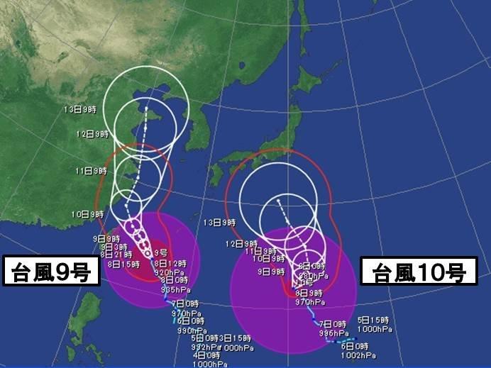 週間 台風10号 お盆の日本を直撃か