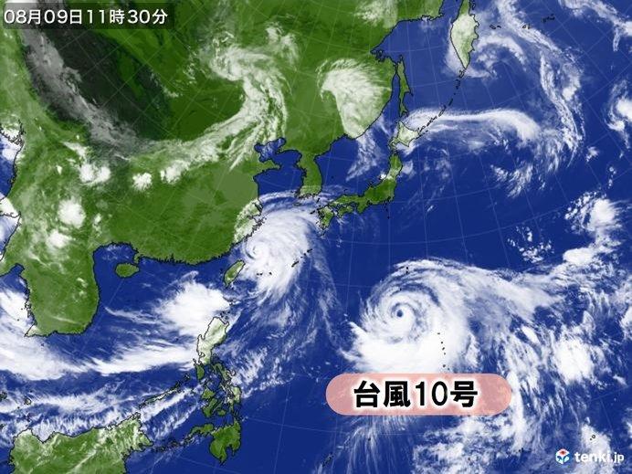 台風10号が鍵を握る お盆の天気 東北