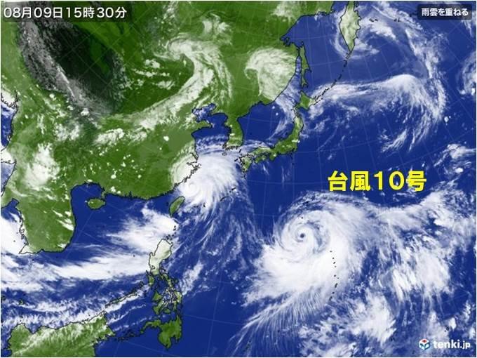 台風10号の特徴は