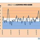 エルニーニョ現象の発生なし 冬にかけて平常状態続く