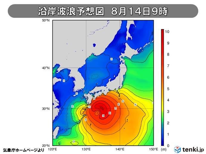 すでに危ない! 台風接近でさらに高波に警戒を!!