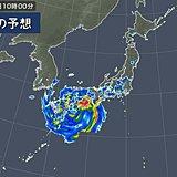 台風 各地への雨風の影響は 総雨量1200ミリ超も