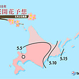 桜前線まもなく終着! 北海道で広く見ごろ