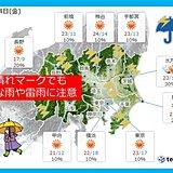 関東 4日は天気の急変注意 6日は暑い