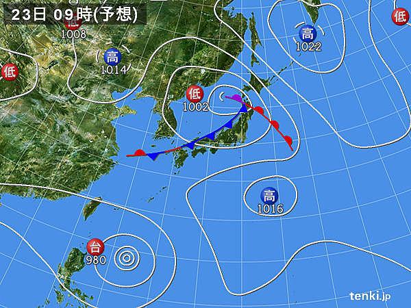 あすの天気 北陸や東北 大気の状態が非常に不安定