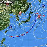 4日 急な強い雨 雷 突風 ひょう 注意