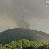 浅間山で噴火発生 噴煙600メートルまで