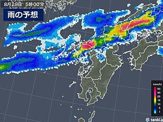 九州北部 29日にかけて再び大雨のおそれ