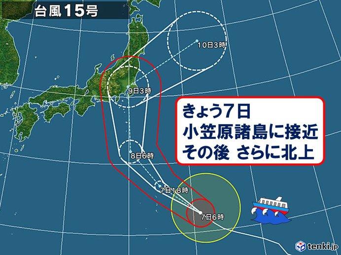 台風15号北上 関東と東海 対策はあす午前までに(日直予報士 2019