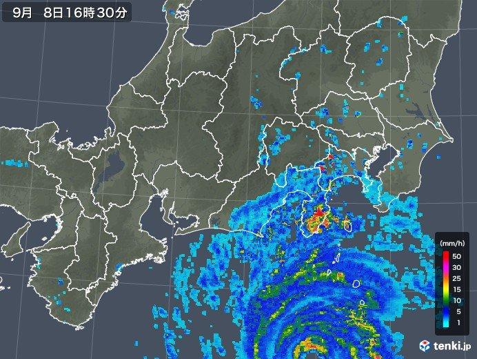 台風 写真