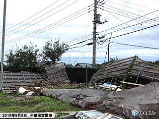 停電続く千葉県 厳しい残暑 熱中症に警戒