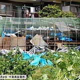 停電など台風の影響続く千葉県 熱中症と激しい雨注意