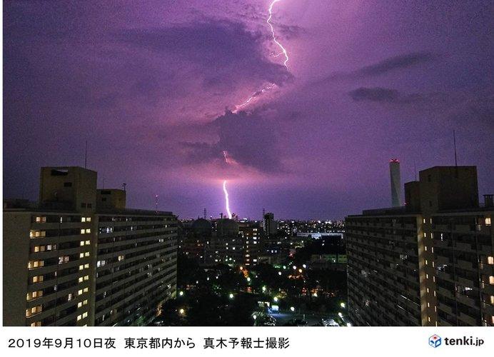 非常に激しい雨や激しい雨に注意、警戒