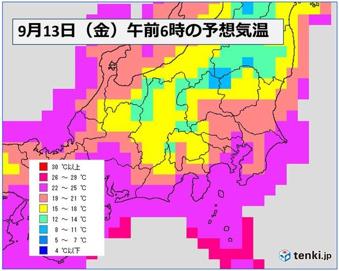 関東 朝晩は過ごしやすい気温に 千葉も暑さ和らぐ