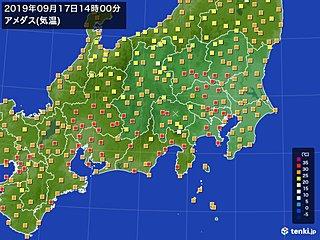 関東も厳しい残暑戻る 都心など広く30度超