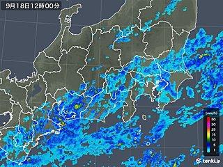 午後は雨の範囲広がる 台風15号の被災地は注意を