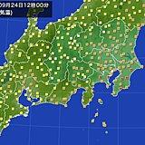 北陸はきのうより10度以上ダウン 関東は厳しい残暑