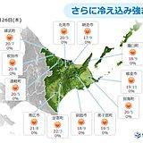 北海道 空気ひんやり あす朝は氷点下!?
