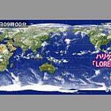 ハリケーン「LORENZO」 イギリス方面へ