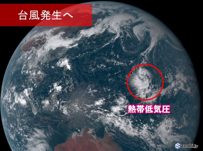 台風19号発生へ 動向に警戒 終わらぬ台風シーズン(日直予報士