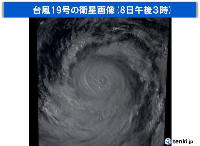 台風19号 中心気圧915hPa 過去にも被害