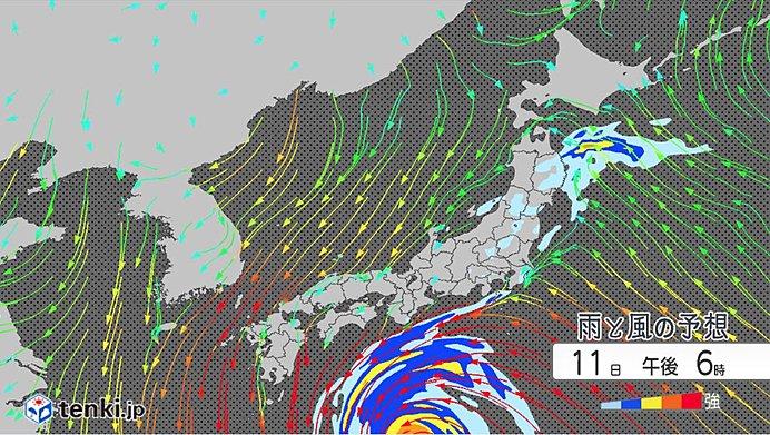 台風19号 どう進む