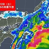 近畿 台風19号 12日午後を中心に要警戒