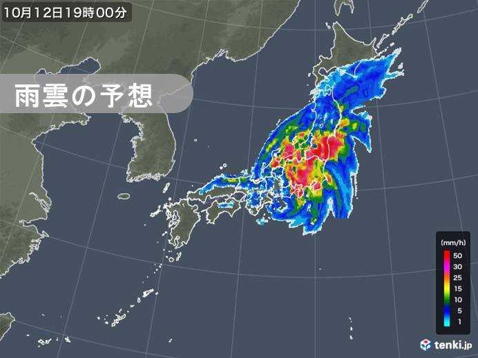 雨雲 レーダー 春日井 市 天気