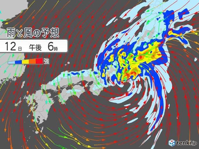 台風19号 尋常じゃない雨 いつまで降り続く 風は