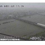 荒川 多摩川 いつ氾濫してもおかしくない状態