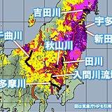 台風19号 東北や関東など複数の河川で氾濫発生