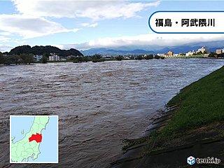 台風19号 福島県に残した爪痕 阿武隈川氾濫