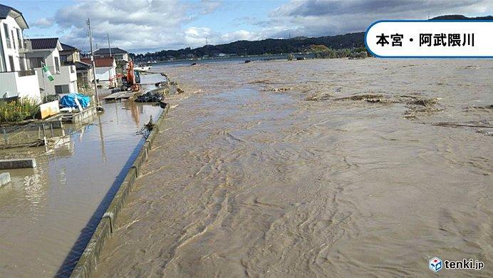 複数の河川で氾濫発生