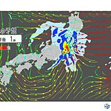 台風遠くても 四国~関東で非常に激しい雨の恐れ