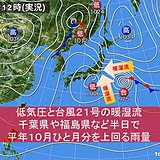 低気圧と台風21号 記録的な大雨のまとめ