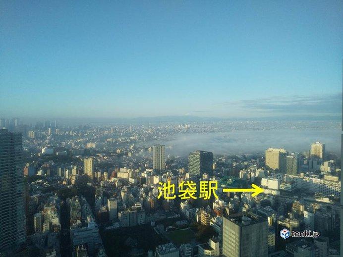 30日 濃霧の朝 日中は快適な陽気に_画像
