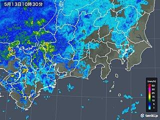 東海 午後は激しい雨のおそれ