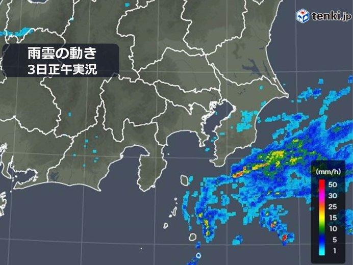 千葉県 今夜にかけて雷雨に注意