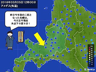 北海道 気温乱高下の1週間に
