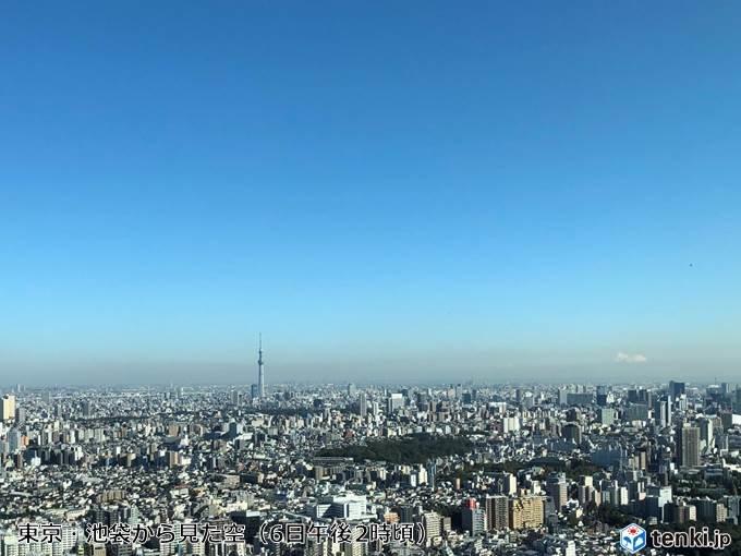 カラカラ 都心と名古屋の湿度19% 今季初10%台