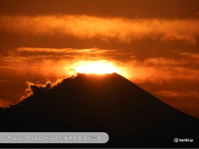 サンシャイン60からダイヤモンド富士 次回は1月