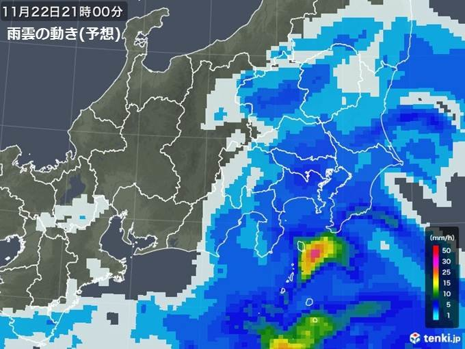 超寒い関東 帰宅時も冷たい雨 土日の雨や寒さは