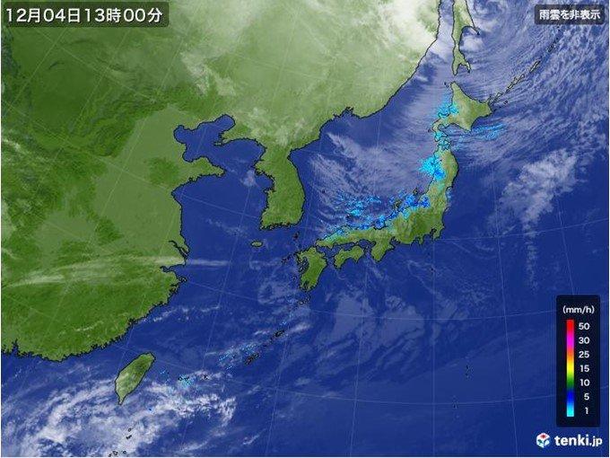 北日本 吹き荒れる暴風 1日で40センチ以上積雪増