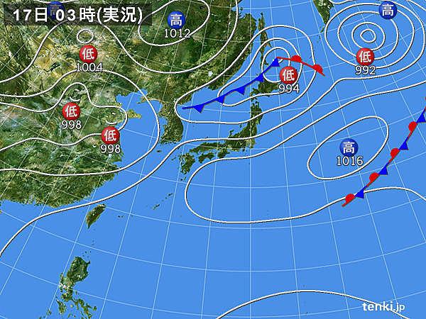17日 関東以西は蒸し暑い 熱中症に注意
